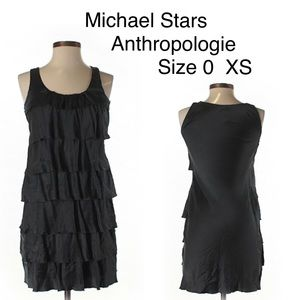 Anthropologie Michael Stars Tiered Ruffle Dress 0